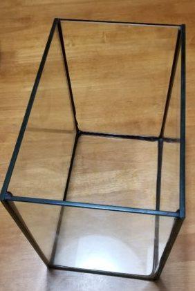 7ℓ容量のガラス水槽